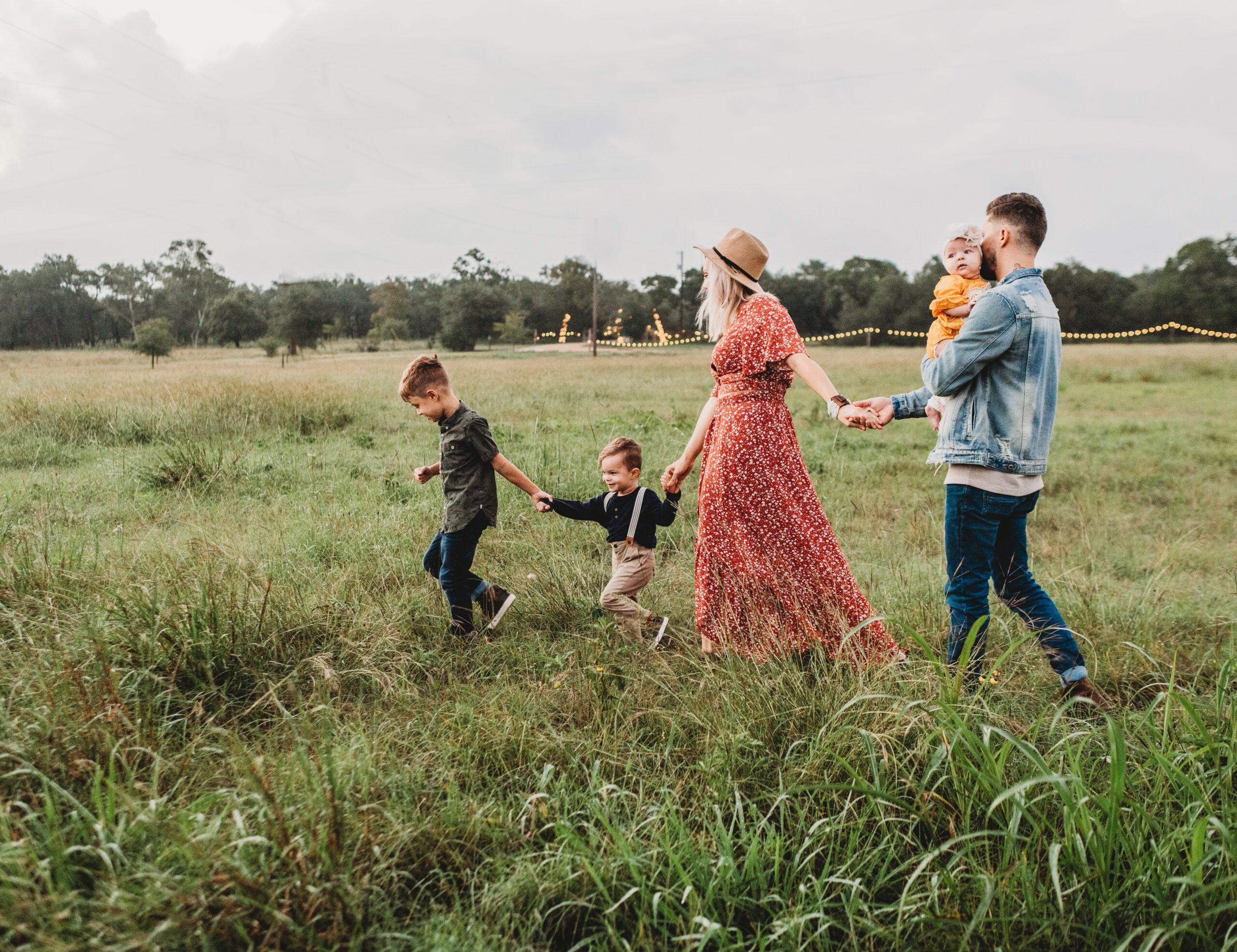 La familia. Salmo 127 y 128